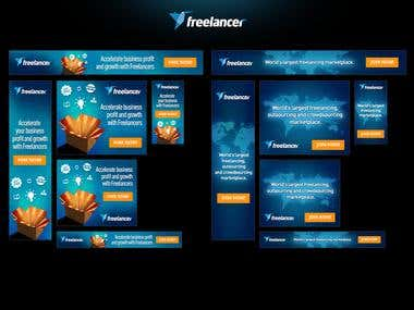 Freelancer.com Banners