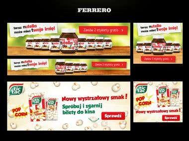 Ferrero Banners