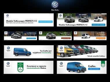 Volkswagen Banners