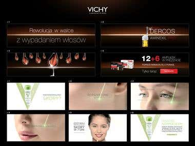 Vichy Banners