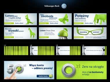 VW Bank Banners