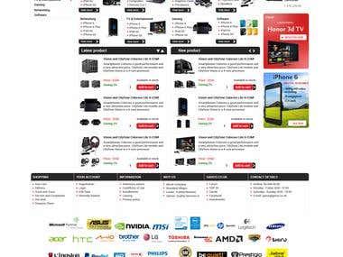 Latest website design for garos.co.uk