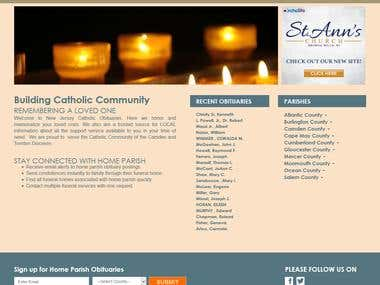 NJCO  Community/ Church Website