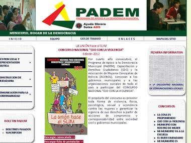Padem Website