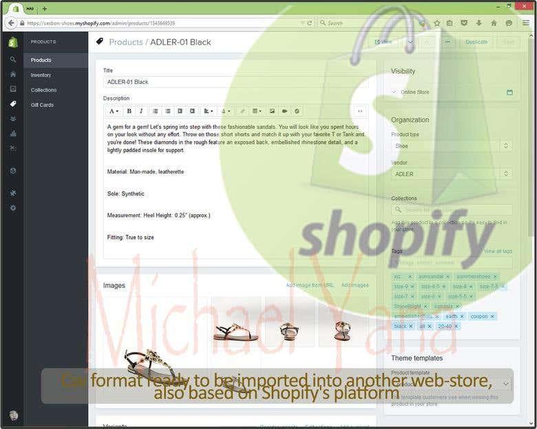 Shopify CSV Format | Freelancer