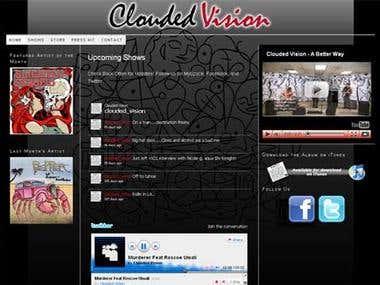 cloudedvision.com
