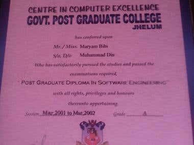 Certificate in Computer Designing
