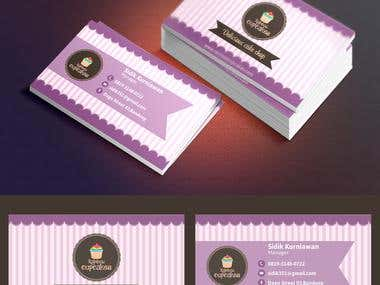 Cupcake Businnes card