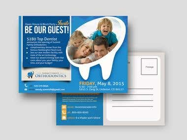 Dentist Post Card