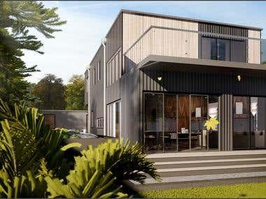 residences | house | facade | interior