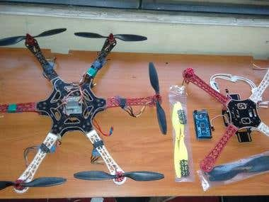 Hexacopter and Quadcopterby BOTZ R&D Team
