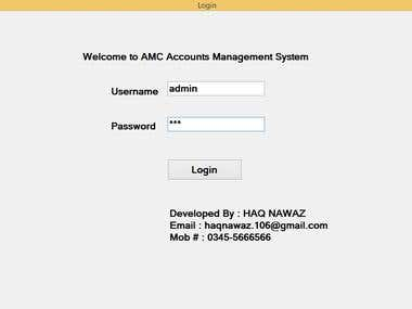 Account Management System