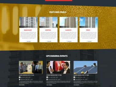 Website Homepage design for a corporate group -- 2