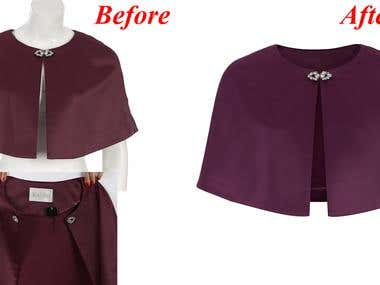 clipping path, remove background, retouch,...
