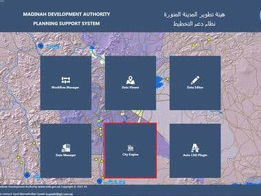 Al-Madinah Development Authority GIS translation