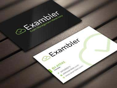 Design some Business Cards for Exambler