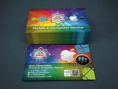 iOS Expert Business Card