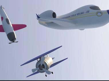 UVV - Airplanes