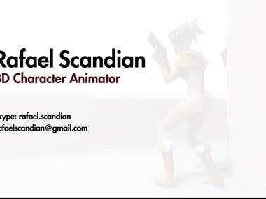 Rafael Scandian - Game Animation Showreel 2015