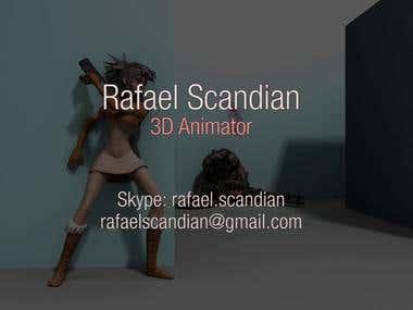 Rafael Scandian - Animation Reel 2015