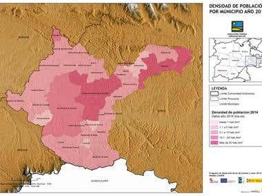 Cartografía ambiental y socioeconómica de Soria