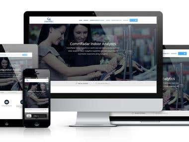 CommRadar Webpage