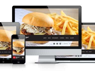 Burger Co. Website