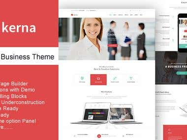 Kerna Modern Business WordPress Theme