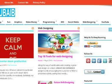 My Personal Blog Hubaib.com
