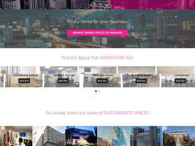 Online Portal for Sharing the Corporate Space Similar AirBnB