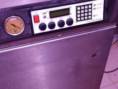 Vacuum Packing Machine Restoration  proto type
