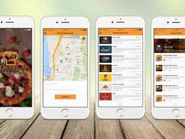 Online Food Order Mobile App (Android , iOS)
