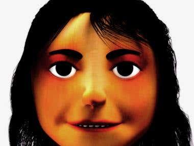 Character Head - Marian