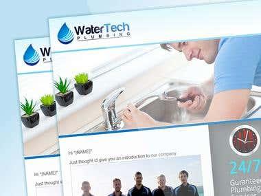 WaterTech -  MailChimp Template