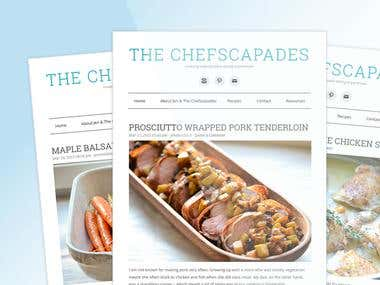 The Chefscapades - RSS Driven MailChimp Template