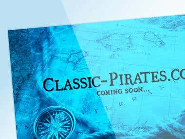 Classic-Pirates.com - Coming Soon Page