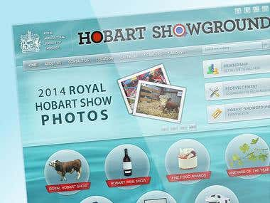Royal Hobart Showground - WordPress Website