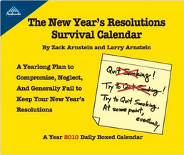 The New Year\'s Resolution Survival Calendar