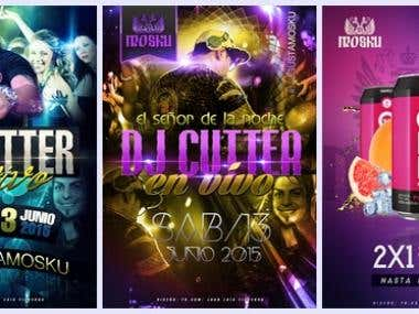 Flyer Design (Mosku NightClub)