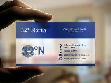 Graphic Design for Business Card and Rack Card