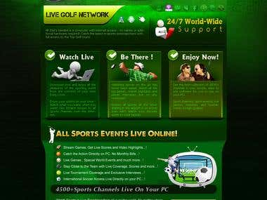 Golf Videos Site