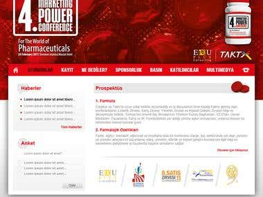 marketing power conference web site