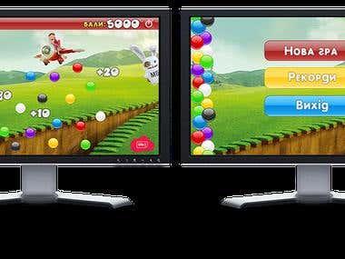 """Desktop game \""""Balls\"""""""