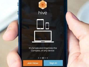 Hive iPhone App
