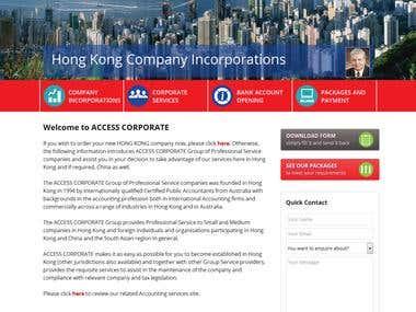 Access Coportate HongKong