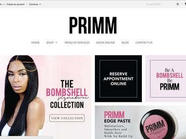Be Primm Online store