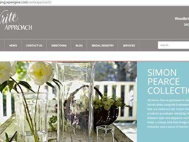 WordPress website from scratch