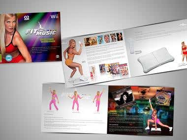Nintendo Wii video game presentation