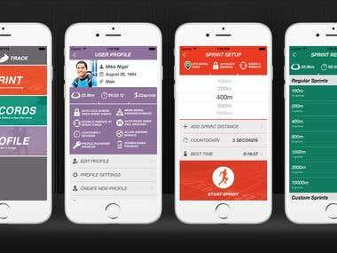 SprintTrack Ios App