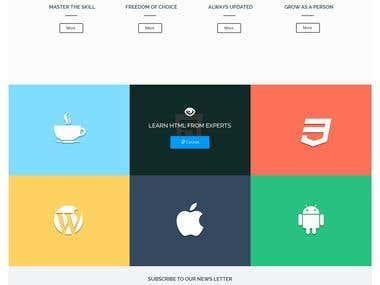 Education website - Online Tution